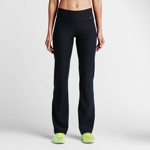 Nike Black Legend Poly Classic Straight Leg Pants